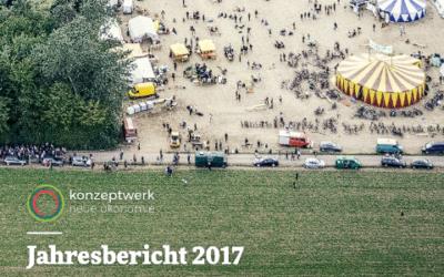 Unser Jahresbericht 2017 ist da!