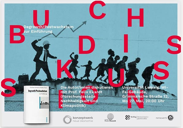 Buchdiskussion Degrowth/Postwachstum