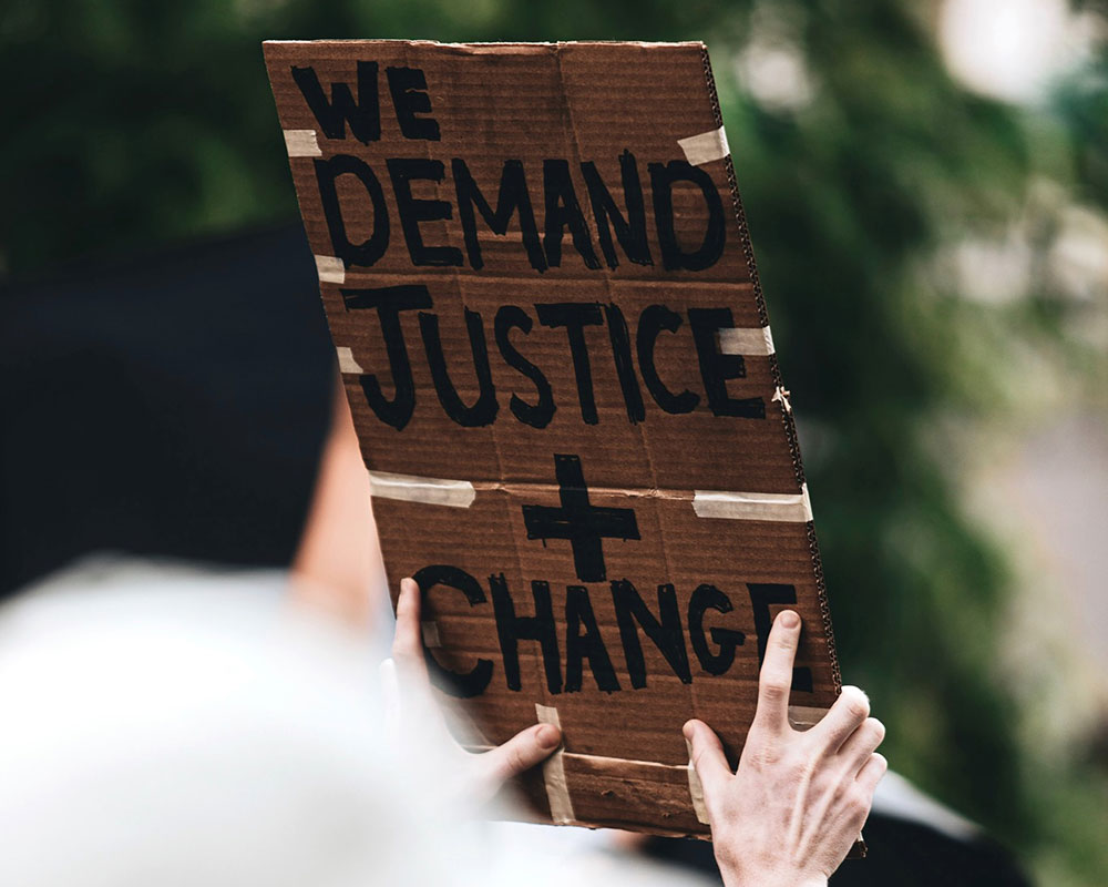 we demand justice and change