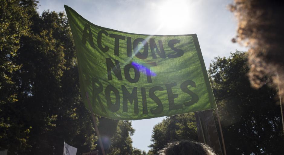 Action not Promises - Workshop mit oxfam zu Online-Aktivismus